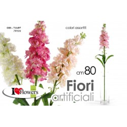 FIORI ARTIFICIALI FLOWERS 80 CM COLORI ASSORTITI OIS-711497