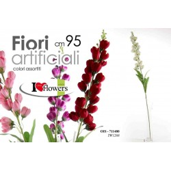 FIORI ARTIFICIALI FLOWERS 95 CM COLORI ASSORTITI OIS-711480