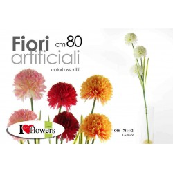 FIORI ARTIFICIALI FLOWERS 80 CM COLORI ASSORTITI OIS-711442