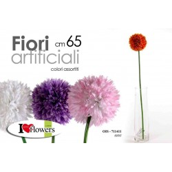 FIORI ARTIFICIALI FLOWERS 65 CM COLORI ASSORTITI OIS-711411