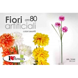 FIORI ARTIFICIALI FLOWERS 80 CM COLORI ASSORTITI OIS-711343