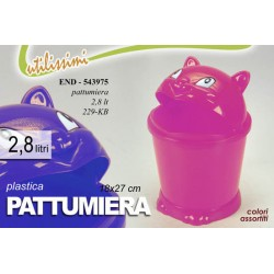 PATTUMIERA PLASTICA 18*27 CM COLORI ASSORTITI END-543975