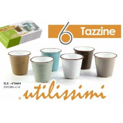 SET 6 TAZZE COLORATE UTILISSIME ILE-676604