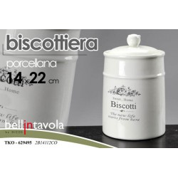 BISCOTTIERA PORCELLANA BELLA IN TAVOLA TKO-629495