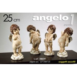 STATUETTA DECORATIVA ANGELO 25 CM SOGGETTI ASSORTITI LAF-588297