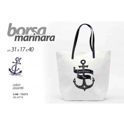 BORSA MARINARA 31*17*40 CM COLORI ASSORTITI LOB-731273