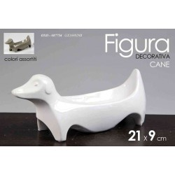 FIGURA DECORATIVA STATUETTA CANE 21*9 CM COLORI ASSORTITI OXO-687754